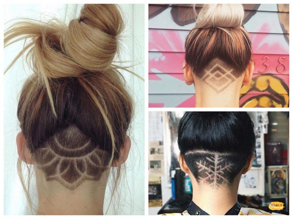 tatuagem de cabelo