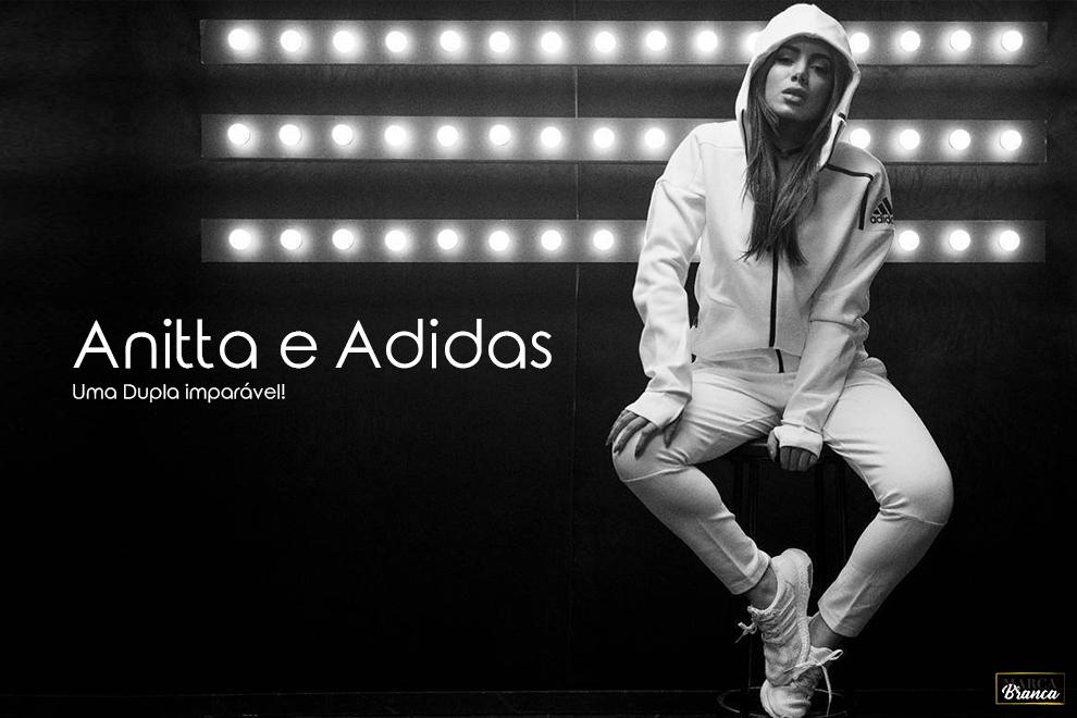 Anitta e Adidas
