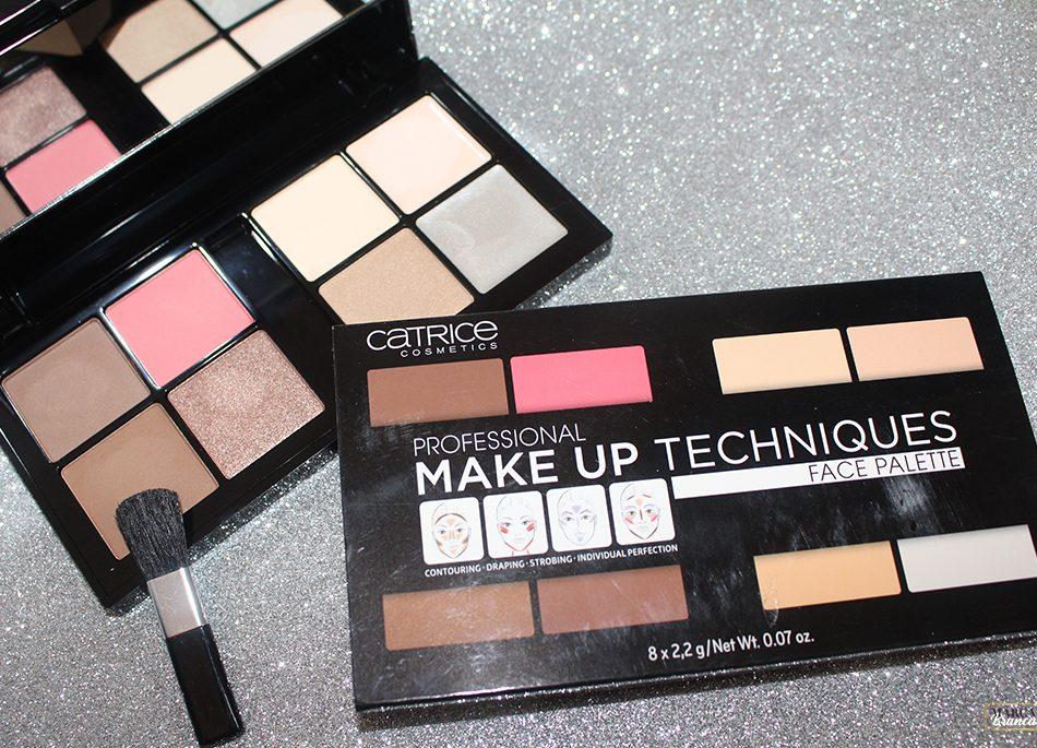 Professional Make up Techniques Face Palette - Review